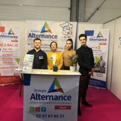 Groupe Alternance Tours au Forum de l'Orientation alternance BTS